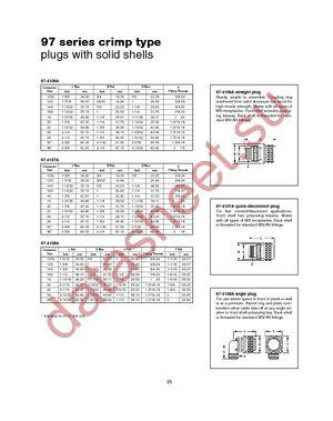 97-3102A-20-23P(621) datasheet скачать даташит