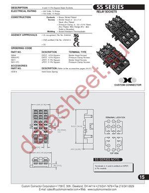 SS11-PC datasheet.