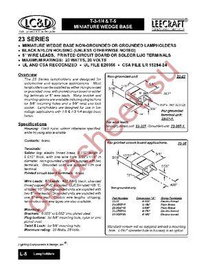 Название электронного компонента: 23-35 (PC).  Форматы файла: HTML, PDF.