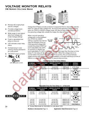 VWKP024A datasheet скачать даташит